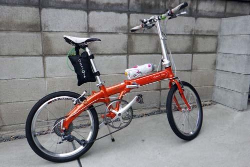 自転車の dahon 自転車 改造 : さんの女子店員さんに、自転車 ...